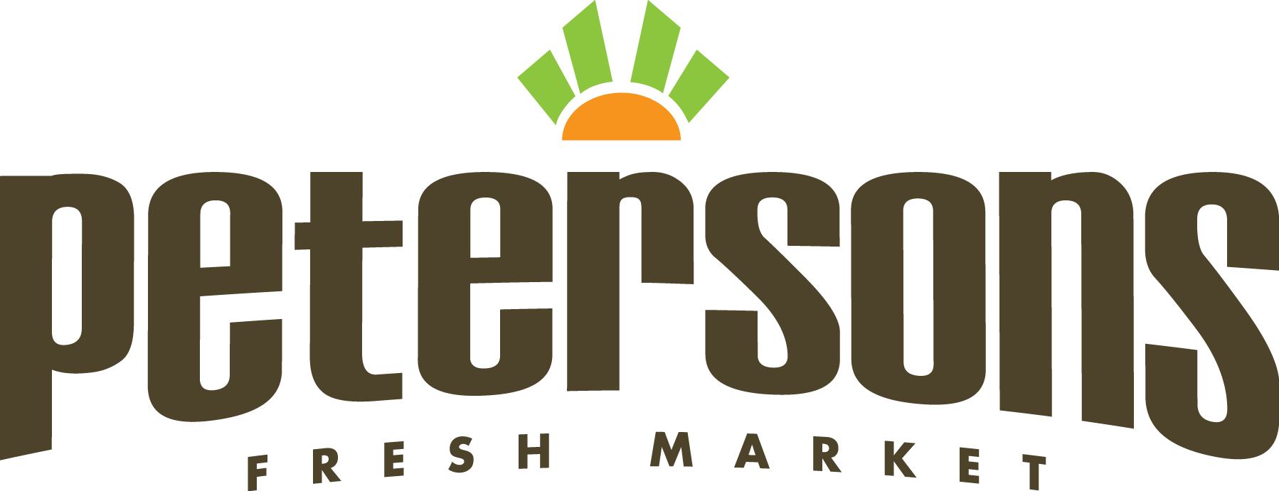 Peterson's Fresh Market Logo